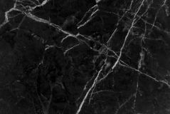 Black and dark marble texture shot through with white deep veining. Pattern for backdrop or background, And can also be used create marble effect to Stock Images