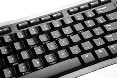 black datortangentbordet Royaltyfri Fotografi