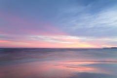 Black dawn-savage beach Royalty Free Stock Photography