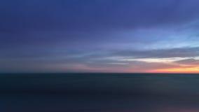 Black dawn-savage beach Stock Image