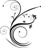 Black decorative design Stock Image