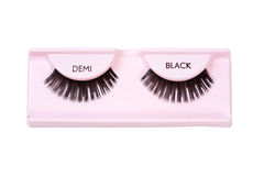 Black demi lashes Royalty Free Stock Photos