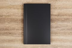 black den blanka boken stock illustrationer
