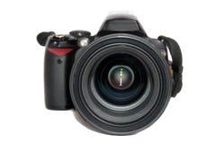 black den digitala kameran Arkivbilder
