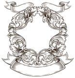 Black den gammala emblemen 皇族释放例证