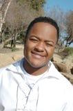 black den lyckliga mannen Arkivfoton