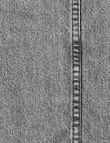 Black Denim 1. Faded black denim background texture Stock Image
