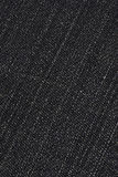 Black denim background Stock Image