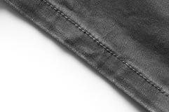 Black denim jeans Stock Photography