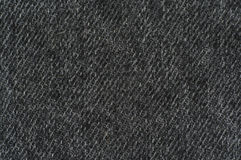 Black denim texture Royalty Free Stock Photo