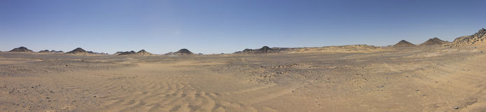 Black desert royalty free stock photos
