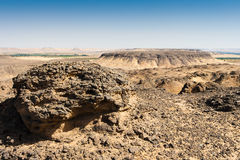 Black desert, Egypt Stock Photography