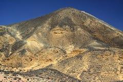 Black desert in Egypt Royalty Free Stock Photo
