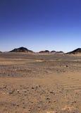 Black desert , Oasis area, Egypt. royalty free stock image