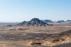 Black desert Royalty Free Stock Photography