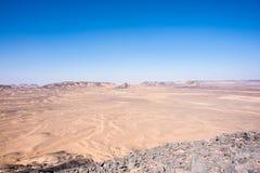 Black desert Royalty Free Stock Photo