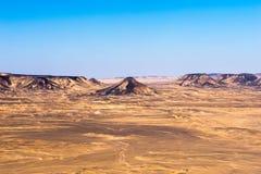 Black desert Royalty Free Stock Image