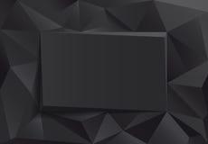 Black design frame Stock Images