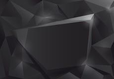 Black design frame. Stock Photos