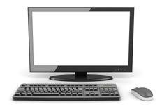 Black desktop PC Royalty Free Stock Image