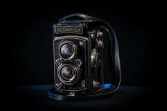 Black Device in Closeup Photo Stock Photo