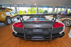 Black Devil of Lamborghini Royalty Free Stock Photography