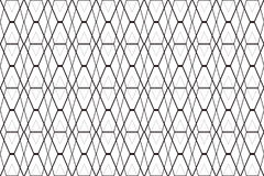 Black diamond mesh on white abstract background Stock Images