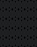 Black diamond pattern background Royalty Free Stock Photography