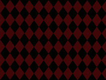 Black Diamonds on Brick Red Background. With room for text Royalty Free Stock Photo