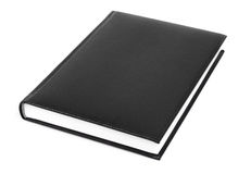 Black Diary Stock Photos