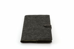 Black diary book . Royalty Free Stock Photography