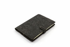Black diary book . Stock Photo