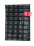 Black diary isolated on white background Stock Photos