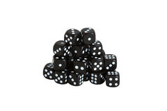 Black dice Stock Image