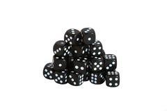 Black dice Stock Image