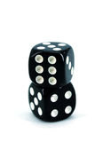 Black Dice Stock Photography