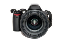Black digital camera Stock Images