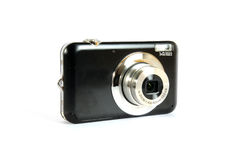Black digital camera Royalty Free Stock Image
