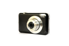 Black digital camera Royalty Free Stock Photo