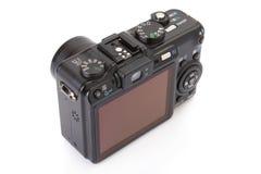Black digital compact camera Stock Image