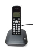 Black digital cordless phone Stock Images
