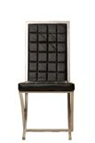 Black Dining chair royalty free stock photo