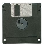 Black diskette isolated Royalty Free Stock Photography
