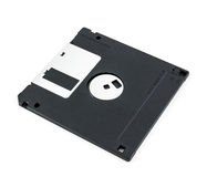Black diskette isolated Royalty Free Stock Image