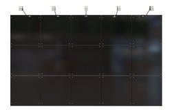Black display Royalty Free Stock Photos