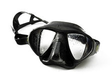 Black diving mask Royalty Free Stock Image