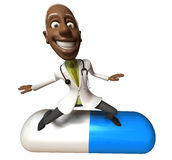 Black doctor Stock Photography