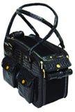 Black dog bag Stock Image