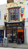 The black dog micro pub Royalty Free Stock Photo