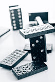 Black domino Royalty Free Stock Photo